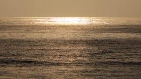 Overzees bij zonsopgang Stock Afbeelding