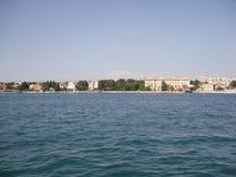 Overzees door Zadar Kroatia Royalty-vrije Stock Foto