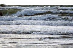 Overzees en golven Royalty-vrije Stock Afbeelding