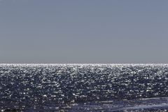 Overzees en Hemel, Hervey Bay, QLD stock foto