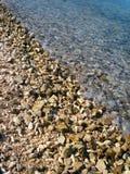 Overzees en Rotsen Stock Foto