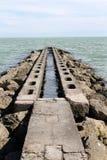 Overzees en strand Royalty-vrije Stock Foto's