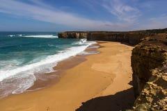 Overzees en strand Stock Afbeelding