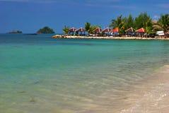 Overzees en strand van Chang Royalty-vrije Stock Afbeeldingen