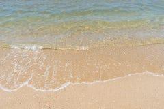 Overzees en zand Royalty-vrije Stock Afbeeldingen
