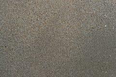 Overzees en zand in strand royalty-vrije stock afbeelding