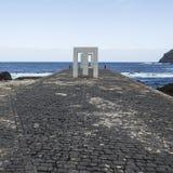 Overzees in Tenerife Royalty-vrije Stock Foto's