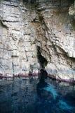 Overzees hol op het Ionische Overzees Royalty-vrije Stock Fotografie