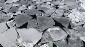 Overzees ijs op Antarctica Stock Afbeeldingen