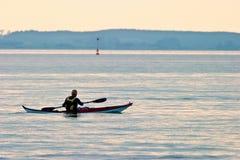 Overzees Kayaking Stock Afbeelding