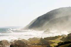Overzees landschap 1 Stock Foto's