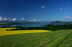 Overzees landschap Royalty-vrije Stock Afbeelding