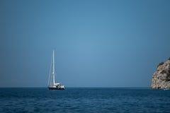 Overzees landschap in Griekenland Stock Afbeelding