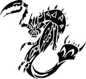 Overzees Monster - vectorillustratie. Vinyl-klaar. Royalty-vrije Stock Foto's