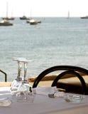 Overzees restaurant Royalty-vrije Stock Afbeeldingen