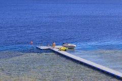 Overzees in Sharm el Sheikh Stock Fotografie