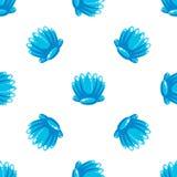 Overzees Shell Pattern, Vectorillustratie Royalty-vrije Stock Afbeelding