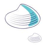 Overzees shell1 Stock Afbeelding