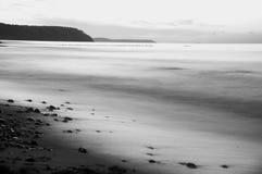 Overzees strand Royalty-vrije Stock Fotografie