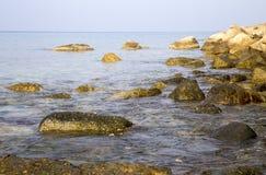 Overzees strand Stock Foto