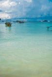 Overzees strand bij Lipe-eiland in Thailand Stock Foto