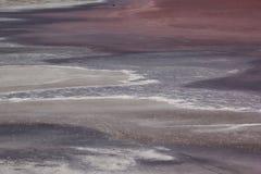 Overzees strand en zachte golf van overzees De zomerdag en zoute strandachtergrond stock foto