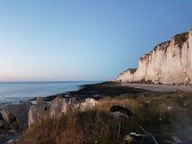 Overzees strand Frankrijk stock foto's