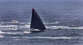 Overzees Syd Hobart Leader Boats Stock Foto
