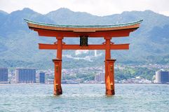 Overzees Torii royalty-vrije stock afbeeldingen