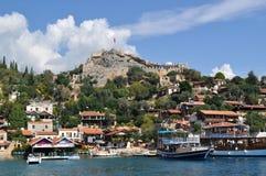 Overzees in Turkije Kekova Royalty-vrije Stock Foto
