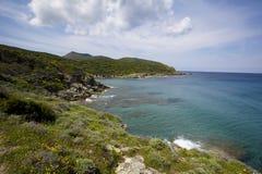 Overzees van Corsica Royalty-vrije Stock Afbeelding
