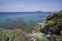Overzees van Corsica Royalty-vrije Stock Afbeeldingen