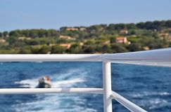 Overzees van de veerboot wordt gezien die Stock Fotografie