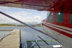 Overzees van de vlotter Vliegtuig Royalty-vrije Stock Afbeelding