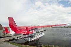 Overzees van de vlotter Vliegtuig royalty-vrije stock afbeeldingen