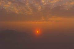 Overzees van Mist Chiangkan D royalty-vrije stock foto