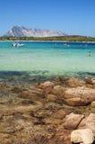 Overzees van Sardinige Royalty-vrije Stock Fotografie