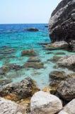 Overzees van Sardinige Stock Foto