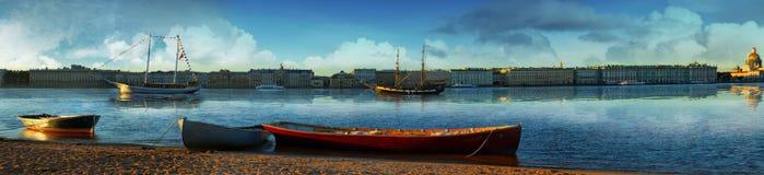 Overzees van St. Petersburg internationaal festival Stock Fotografie