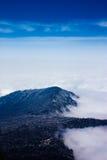 Overzees van wolken Royalty-vrije Stock Afbeelding