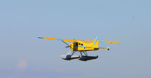 Overzees vliegtuig Royalty-vrije Stock Foto's