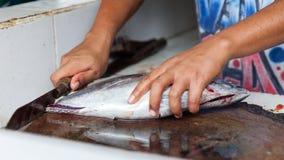 Overzees Voedsel Bali, Populaire Vissenmarkt Jimbaran, Indonesië Royalty-vrije Stock Afbeeldingen
