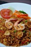Overzees voedsel gebraden rijst stock foto