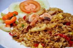 Overzees voedsel gebraden rijst royalty-vrije stock afbeeldingen