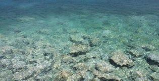 Overzees Water stock foto