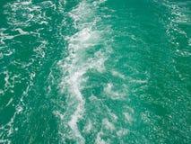 Overzees Water royalty-vrije stock foto