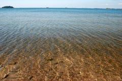 Overzees water Stock Fotografie