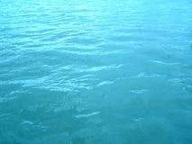 Overzees waterachtergrond Royalty-vrije Stock Afbeeldingen