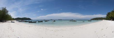 Overzees zand whitesand strand Royalty-vrije Stock Foto