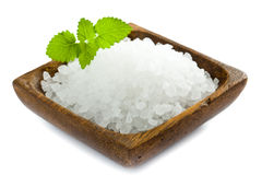 Overzees zout Royalty-vrije Stock Fotografie